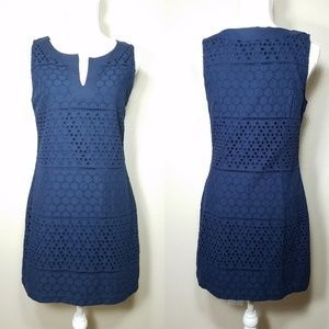 Banana Republic Sheath Dress Sleeveless V-Neck 8P
